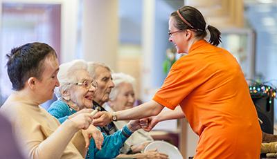 Pflegeheim im Maimonides Zentrum